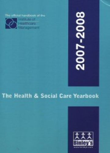 9781901441406 Health and Social Care Yearbook 2007-2008