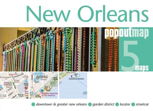 9781910218563 New Orleans PopOut Map