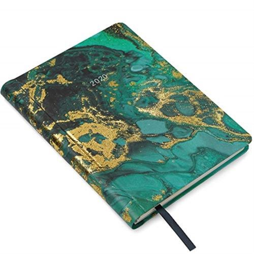 9781911388272 2020 Cook's Diary Marble Design