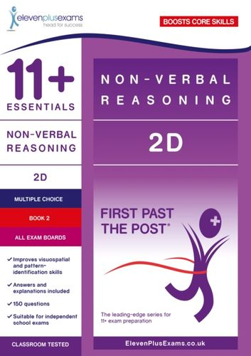 9781912364886 11+ Essentials Non-verbal Reasoning 2D Book 2
