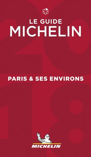 9782067223776 Paris & ses environs - The MICHELIN guide 2018