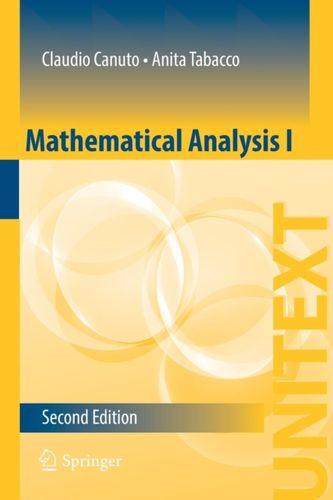 9783319127712 Mathematical Analysis I