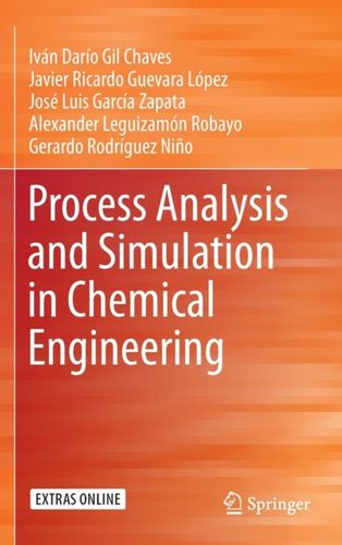 9783319148113 Process Analysis and Simulation in Chemical Engineering