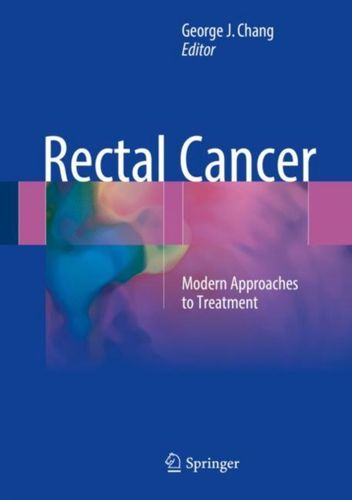 9783319163833 Rectal Cancer