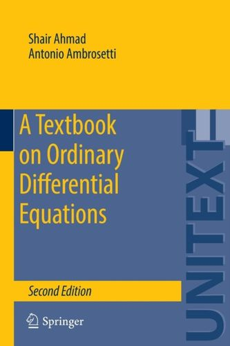 9783319164076 Textbook on Ordinary Differential Equations