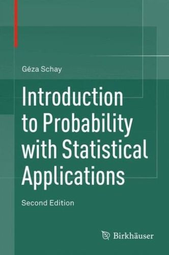 9783319306186 Introduction to Probability with Statistical Applications