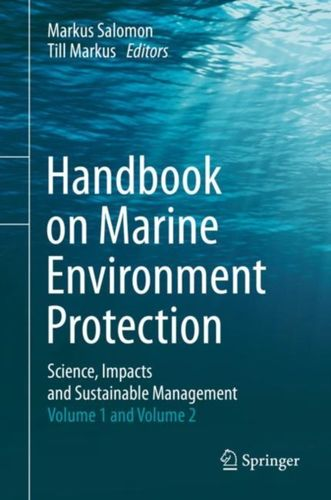 9783319601540 Handbook on Marine Environment Protection