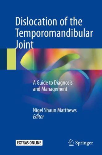 9783319626512 Dislocation of the Temporomandibular Joint