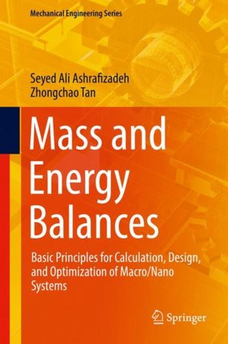 9783319722894 Mass and Energy Balances