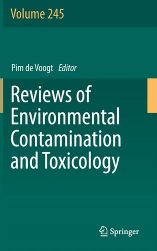 9783319750361 Reviews of Environmental Contamination and Toxicology Volume 245