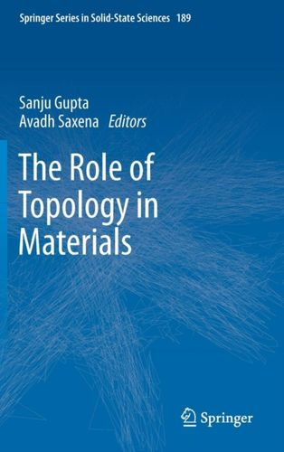 9783319765952 Role of Topology in Materials