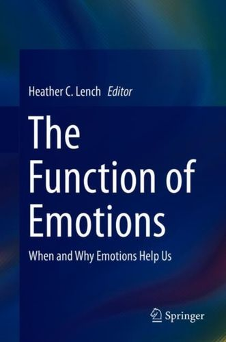 9783319776187 Function of Emotions
