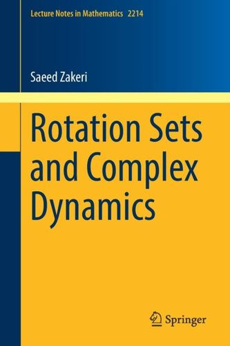 9783319788098 Rotation Sets and Complex Dynamics