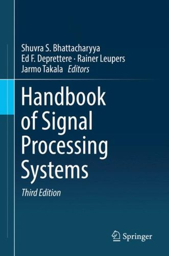 9783319917337 Handbook of Signal Processing Systems