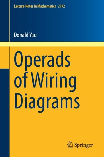 9783319950006 Operads of Wiring Diagrams