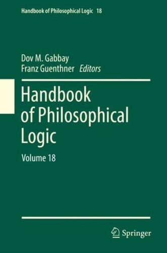 9783319977546 Handbook of Philosophical Logic