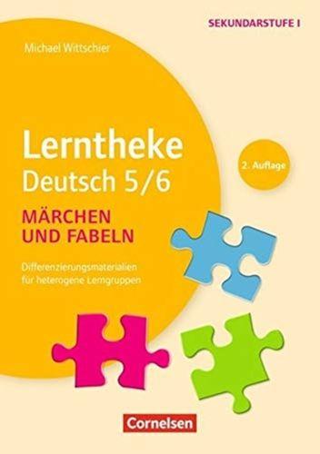 9783589156993 LERNTHEKE DEUTSCH 5 6 MARCHEN UND FABELN