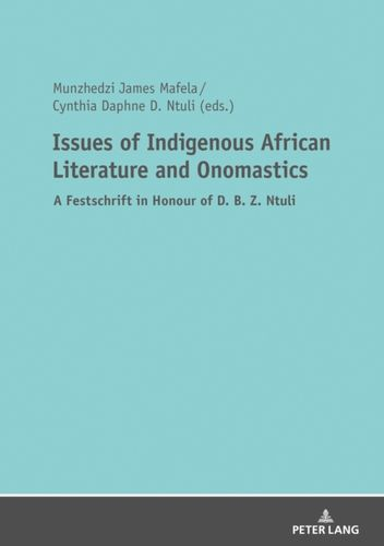 9783631735930 Issues of Indigenous African Literature and Onomastics