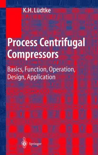 9783642073304 Process Centrifugal Compressors