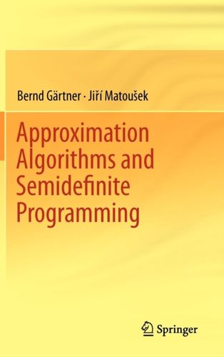 9783642220142 Approximation Algorithms and Semidefinite Programming