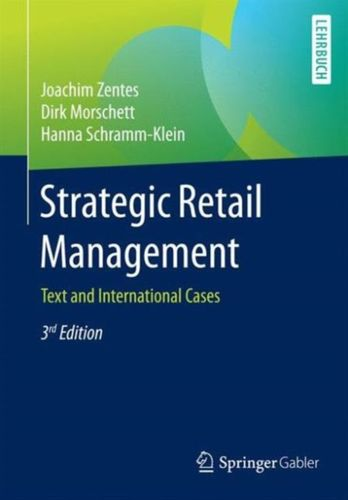 9783658101824 Strategic Retail Management