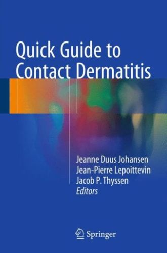 9783662477137 Quick Guide to Contact Dermatitis
