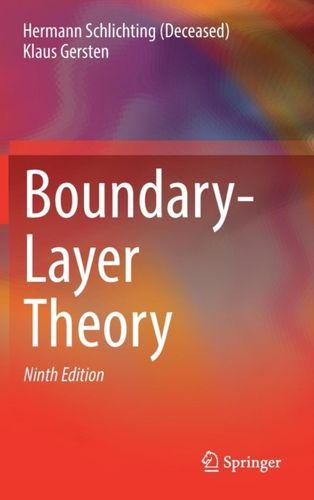 9783662529171 Boundary-Layer Theory