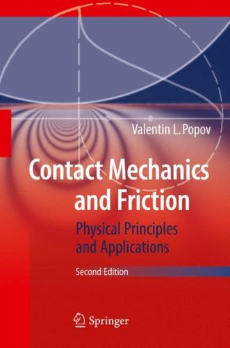 9783662530801 Contact Mechanics and Friction
