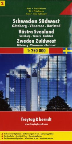 9783707903195 Sweden South West - Gothenburg - Vanersee - Karlstad Sheet 2 Road Map 1:250 000
