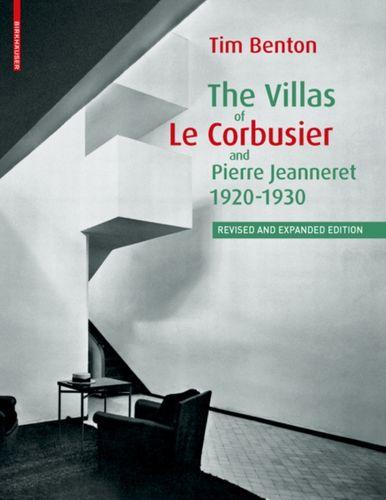 9783764384067 Villas of Le Corbusier and Pierre Jeanneret 1920-1930