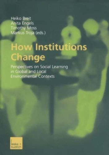 9783810038586 How Institutions Change