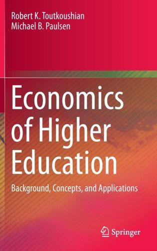 9789401775045 Economics of Higher Education