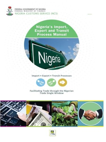 9789788431367 Nigeria's Import, Export and Transit Process Manual