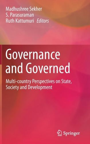 9789811059629 Governance and Governed