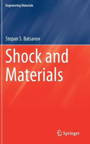 9789811078859 Shock and Materials