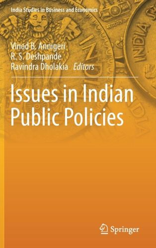 9789811079498 Issues in Indian Public Policies