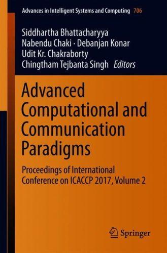 9789811082368 Advanced Computational and Communication Paradigms