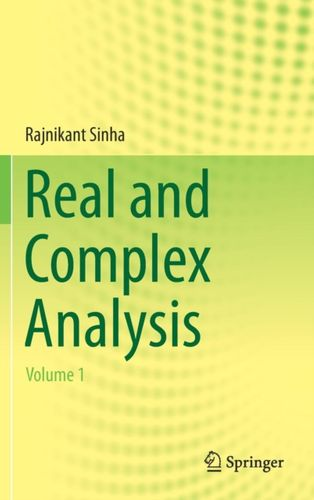 9789811309373 Real and Complex Analysis